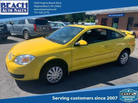 2007 Chevrolet Cobalt for sale at Beach Auto Sales in Virginia Beach VA