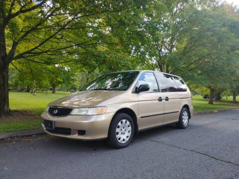 2001 Honda Odyssey for sale at NATIONAL AUTO SALES AND SERVICE LLC in Spokane WA