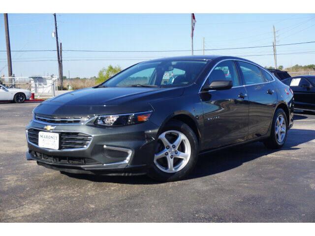 2018 Chevrolet Malibu for sale at Maroney Auto Sales in Humble TX
