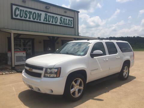 2013 Chevrolet Suburban for sale at Custom Auto Sales - AUTOS in Longview TX