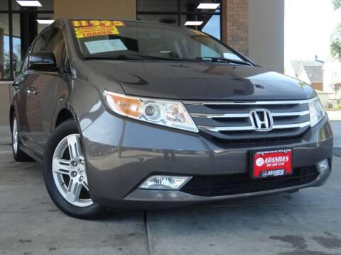2012 Honda Odyssey for sale at Arandas Auto Sales in Milwaukee WI