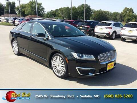 2017 Lincoln MKZ Hybrid for sale at RICK BALL FORD in Sedalia MO
