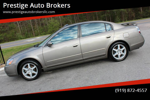 2003 Nissan Altima for sale at Prestige Auto Brokers in Raleigh NC