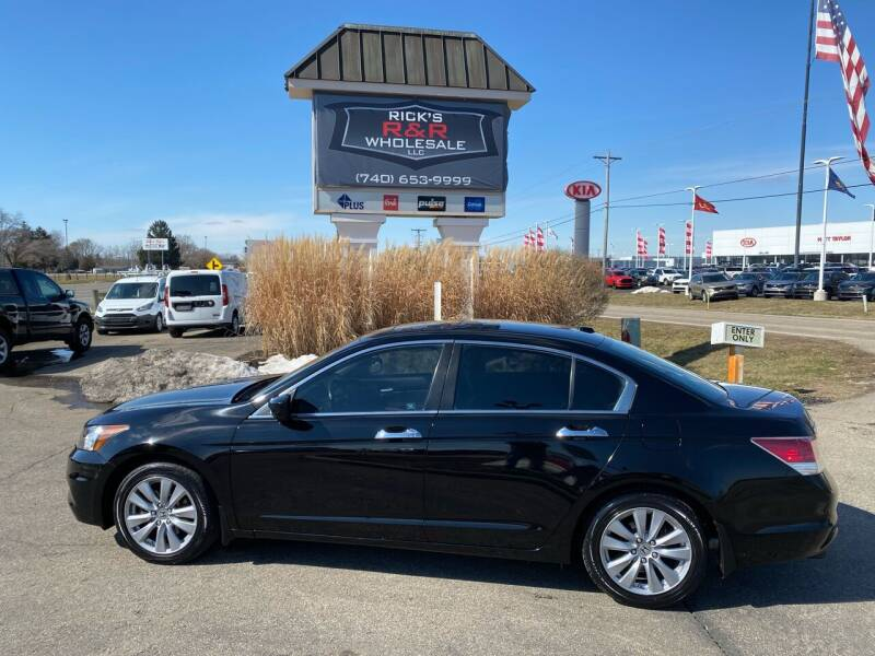 2012 Honda Accord for sale at Rick's R & R Wholesale, LLC in Lancaster OH