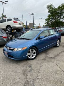2008 Honda Civic for sale at AutoBank in Chicago IL