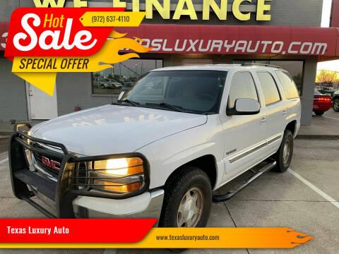 2005 GMC Yukon for sale at Texas Luxury Auto in Cedar Hill TX