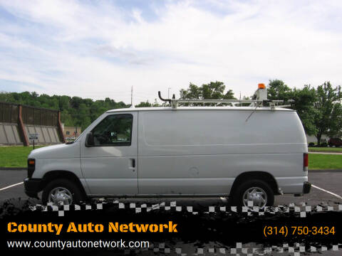 2012 Ford E-Series Cargo for sale at County Auto Network in Ballwin MO