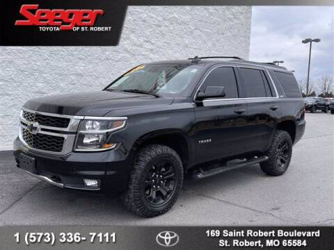 2018 Chevrolet Tahoe for sale at SEEGER TOYOTA OF ST ROBERT in St Robert MO