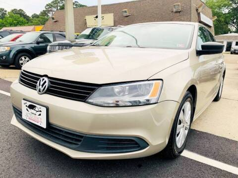 2014 Volkswagen Jetta for sale at Auto Space LLC in Norfolk VA