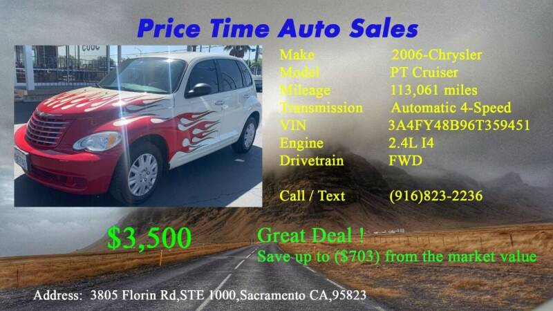 2006 Chrysler PT Cruiser for sale at PRICE TIME AUTO SALES in Sacramento CA