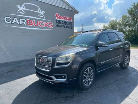 2013 GMC Acadia for sale at Carbucks in Hamilton OH