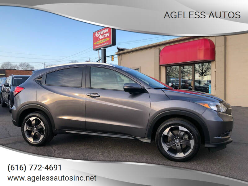 2018 Honda HR-V for sale at Ageless Autos in Zeeland MI