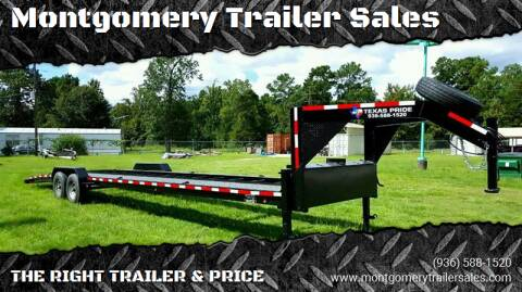 2021 TEXAS PRIDE 7' By 36' Gooseneck for sale at Montgomery Trailer Sales in Conroe TX