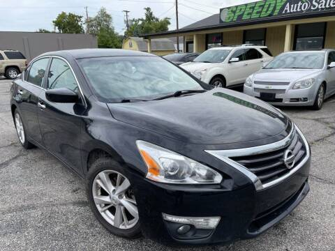 2015 Nissan Altima for sale at speedy auto sales in Indianapolis IN