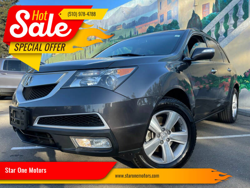 2011 Acura MDX for sale at Star One Motors in Hayward CA