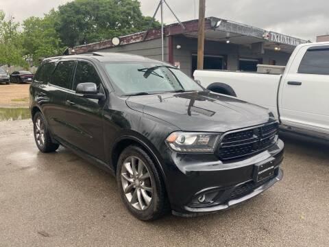 2015 Dodge Durango for sale at Texas Luxury Auto in Houston TX