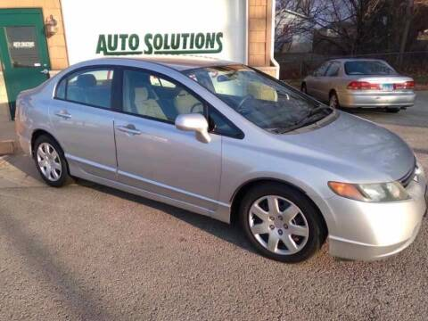 2006 Honda Civic for sale at Auto Solutions of Rockford in Rockford IL