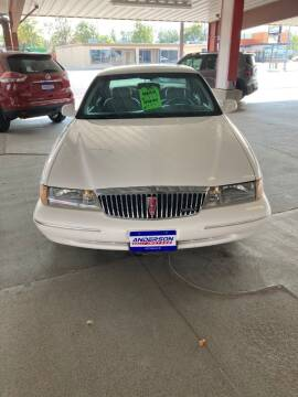 1997 Lincoln Continental for sale at Anderson Motors in Scottsbluff NE