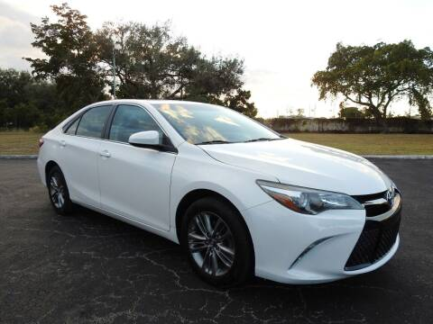 2017 Toyota Camry for sale at SUPER DEAL MOTORS 441 in Hollywood FL