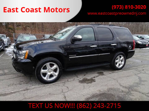 2009 Chevrolet Tahoe for sale at East Coast Motors in Lake Hopatcong NJ