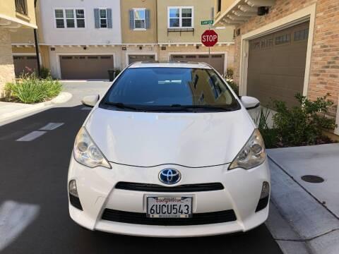 2012 Toyota Prius c for sale at Hi5 Auto in Fremont CA