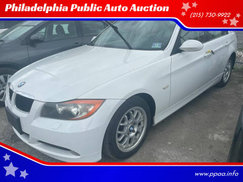 2007 BMW 3 Series for sale at Philadelphia Public Auto Auction in Philadelphia PA