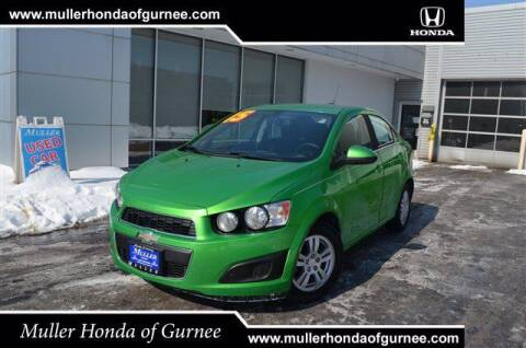 2015 Chevrolet Sonic for sale at RDM CAR BUYING EXPERIENCE in Gurnee IL