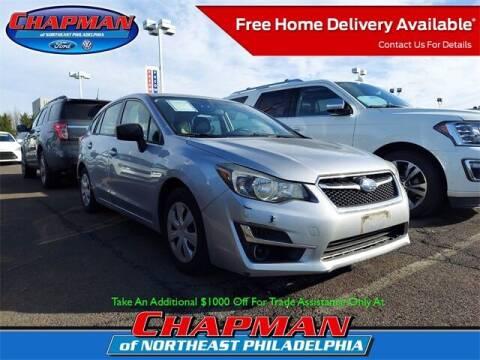2015 Subaru Impreza for sale at CHAPMAN FORD NORTHEAST PHILADELPHIA in Philadelphia PA