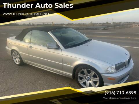 2002 BMW 3 Series for sale at Thunder Auto Sales in Sacramento CA