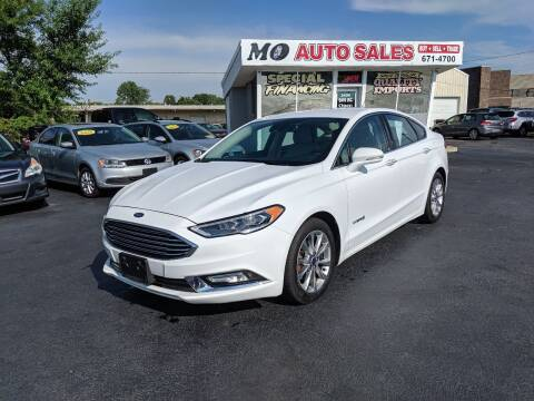 2017 Ford Fusion Hybrid for sale at Mo Auto Sales in Fairfield OH