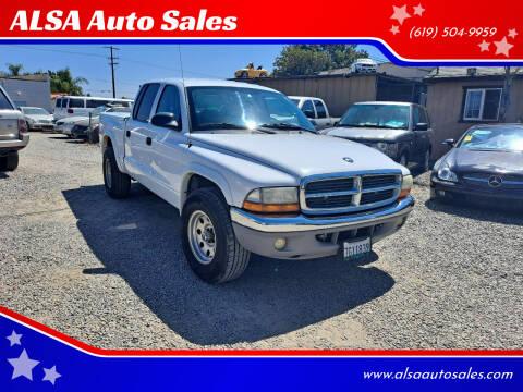 2003 Dodge Dakota for sale at ALSA Auto Sales in El Cajon CA