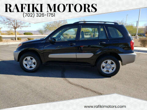 2004 Toyota RAV4 for sale at RAFIKI MOTORS in Henderson NV