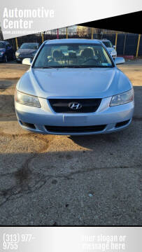 2008 Hyundai Sonata for sale at Automotive Center in Detroit MI