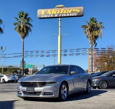 2017 Dodge Charger for sale at A MOTORS SALES AND FINANCE in San Antonio TX