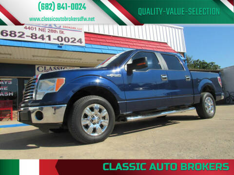 2010 Ford F-150 for sale at Classic Auto Brokers in Haltom City TX