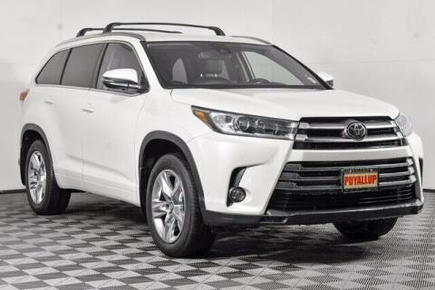 2017 Toyota Highlander for sale at Chevrolet Buick GMC of Puyallup in Puyallup WA