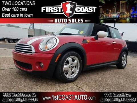 2009 MINI Cooper for sale at 1st Coast Auto -Cassat Avenue in Jacksonville FL