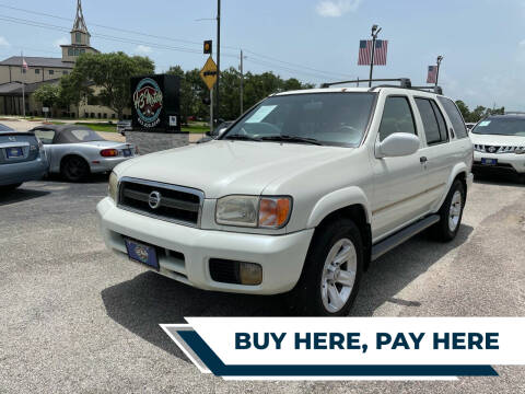 2002 Nissan Pathfinder for sale at H3 MOTORS in Dickinson TX