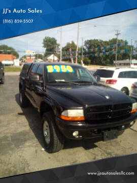 2002 Dodge Dakota for sale at JJ's Auto Sales in Independence MO