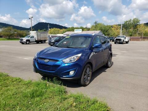 2015 Hyundai Tucson for sale at Greens Auto Mart Inc. in Wysox PA