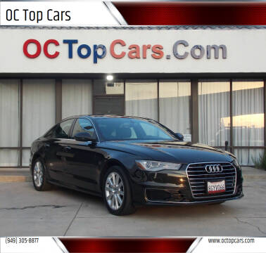 2016 Audi A6 for sale at OC Top Cars in Irvine CA