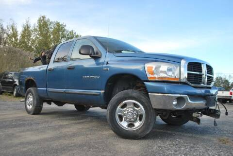 2006 Dodge Ram Pickup 2500 for sale at GLOVECARS.COM LLC in Johnstown NY
