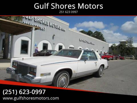 1979 Cadillac Eldorado Biarritz for sale at Gulf Shores Motors in Gulf Shores AL