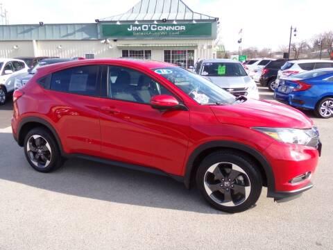 2018 Honda HR-V for sale at Jim O'Connor Select Auto in Oconomowoc WI