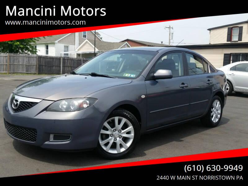 2008 Mazda MAZDA3 for sale at Mancini Motors in Norristown PA