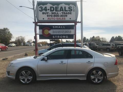 2011 Ford Fusion for sale at 34 Deals LLC in Loveland CO