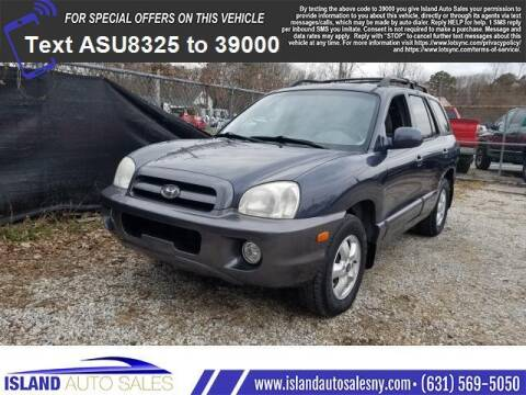 2006 Hyundai Santa Fe for sale at Island Auto Sales in E.Patchogue NY