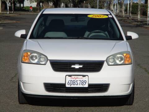 2007 Chevrolet Malibu for sale at General Auto Sales Corp in Sacramento CA