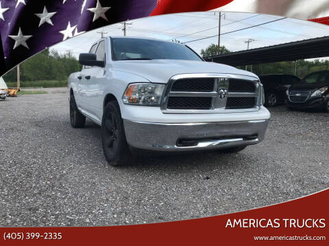 2010 Dodge Ram Pickup 1500 for sale at Americas Trucks in Jones OK