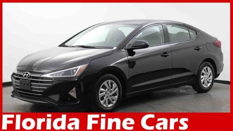 2020 Hyundai Elantra for sale at Florida Fine Cars - West Palm Beach in West Palm Beach FL